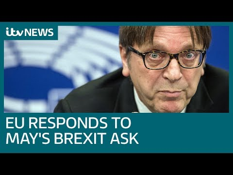 European Union responds to new twist in UK's Brexit crisis | ITV News