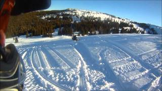 Snowmobile Trip to Bighorn Mountains 2012