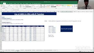 Session on Advanced Excel