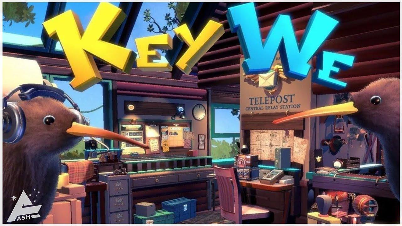 KeyWe - It's Flightless Bird Postal Madness