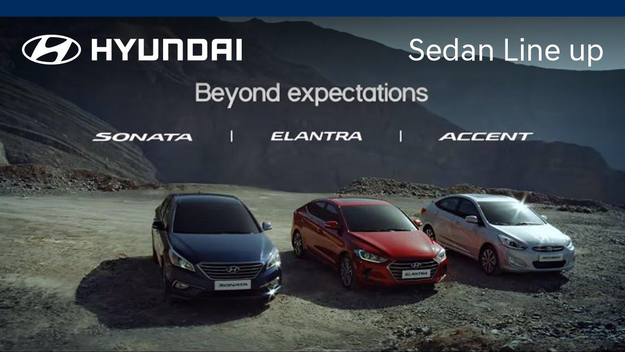 Hyundai 2016 Sedan Line Up Singapore Ver
