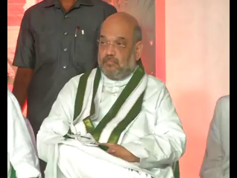 Shri Amit Shah lays the foundation stone  of State BJP Office , Trivandrum