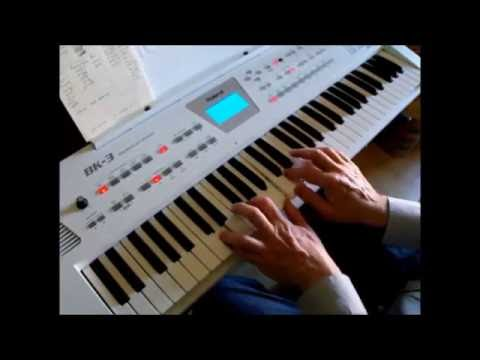 Roland BK-3 keyboard review.
