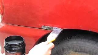 Roest verwijderen / Test roest verwijderen met Rustyco