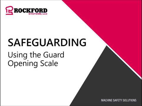 Osha Compliant Guard Opening Scale Measuring Device