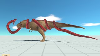 TITANOBOA vs EVERY UNIT - Animal Revolt Battle Simulator