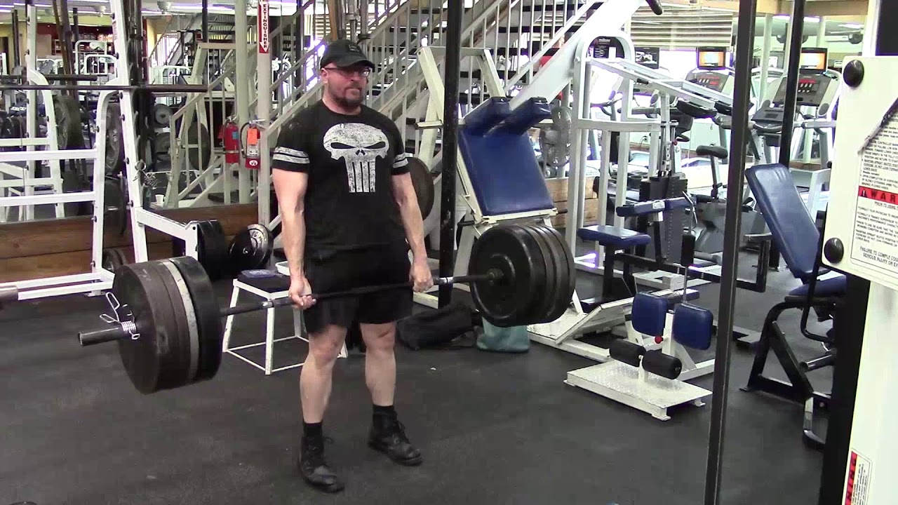 Full Workout With Jason Blaha 9-5-2017 - Added Supinated Pendlay Rows