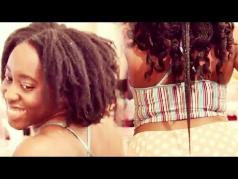 stretch curl natural hair
