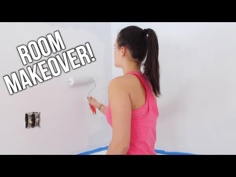 MAKING MYSELF A NEW BEDROOM (BASICALLY HGTV)