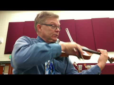 Carol of the Bells/ God Rest Ye Merry Gentlemen arr. Riley 1st violin part