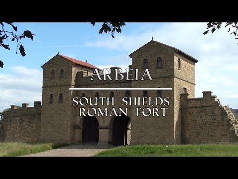 Arbeia -South Shields Roman Fort - Full Tour. Tyne and Wear. Free entry.
