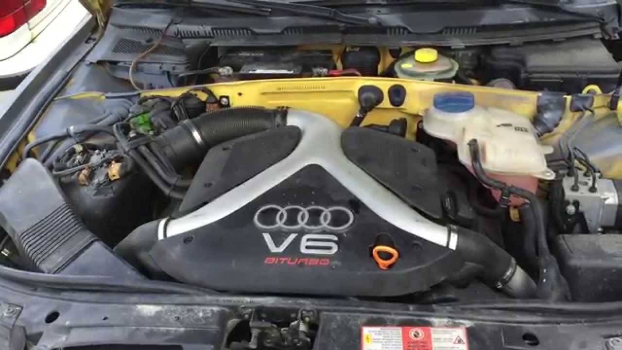 Audi B5 S4 2 7t Engine Swap  U0026 6 Speed Transmission For Sale Part Out