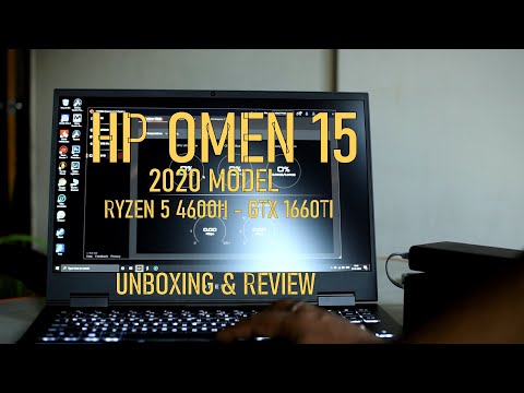 HP Omen 15 2020 - Ryzen 5 4600H - GTX 1660TI - Unboxing and Review