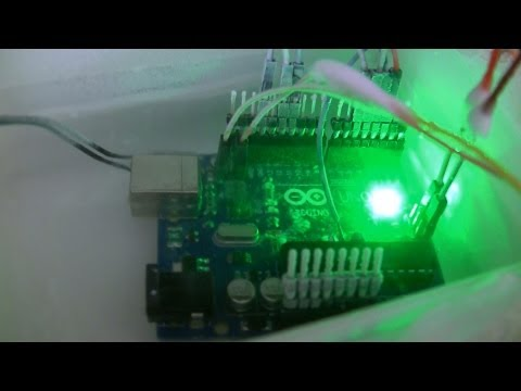 Arduino overclocking with Liquid Nitrogen cooling 65.3Mhz@-196°C
