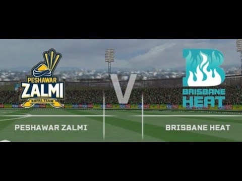 Peshawar Zalmi V/S  Brisbane  Heat full match highlights 2017.