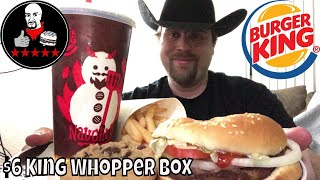 Burger King $6 King Box Review feat. Whopper Box