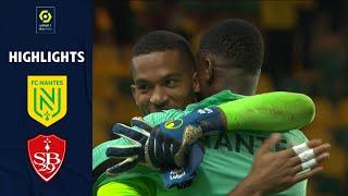 FC NANTES - STĄDE BRESTOIS 29 (3 - 1) - Highlights - (FCN - SB29) / 2021-2022