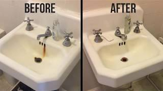 how to remove rust stains from a