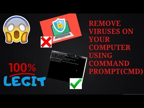 Scan and Remove Viruses using CMD without any antivirus software