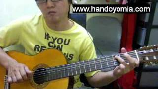 LUCKY - Jason Mraz ft Colbie Caillat - FingerStyle Guitar Solo