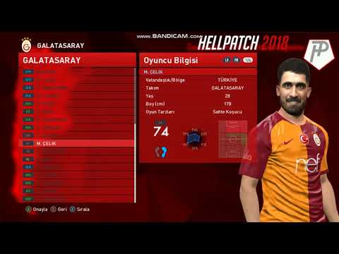 PES 2017 HellPatch 2018 Version 1.00 – Released 10/12/2018