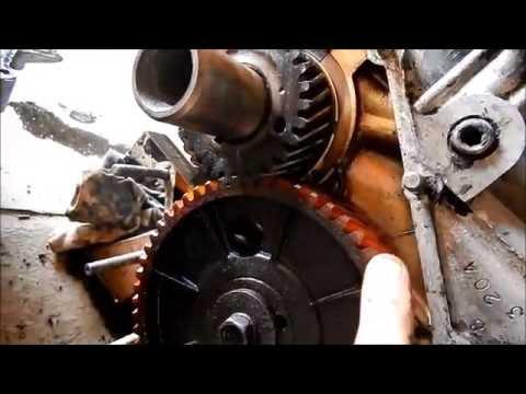 ГАЗ-3110 ДВС 402-1. Замена сальниковой набивки коленвала.