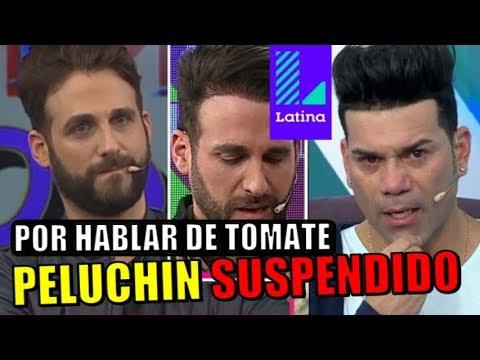 FUEGO!!! SUSPENDEN A PELUCHIN HASTA EL OTRO AÑO POR CULPA DE TOMATE BARRAZA
