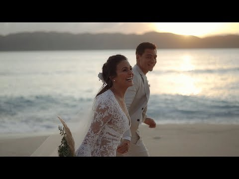 Ben Wintle and Iza Calzado -- Wedding in Paradise
