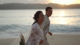 Ben Wintle and Iza Calzado -- Wedding in Paradise