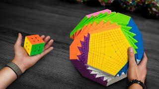 Это самый сложный кубик Рубика в мире | Examinx распаковка и обзор