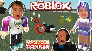 ROBLOX Ragdoll Engine, Pet Escape + Lucky Blocks YUMMY GUMMY Gaming for Kids