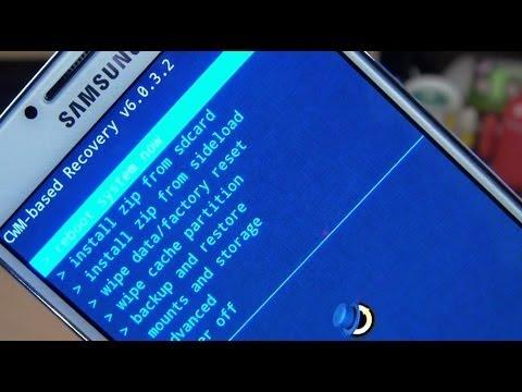 Samsung Galaxy S4 How to Install CWM