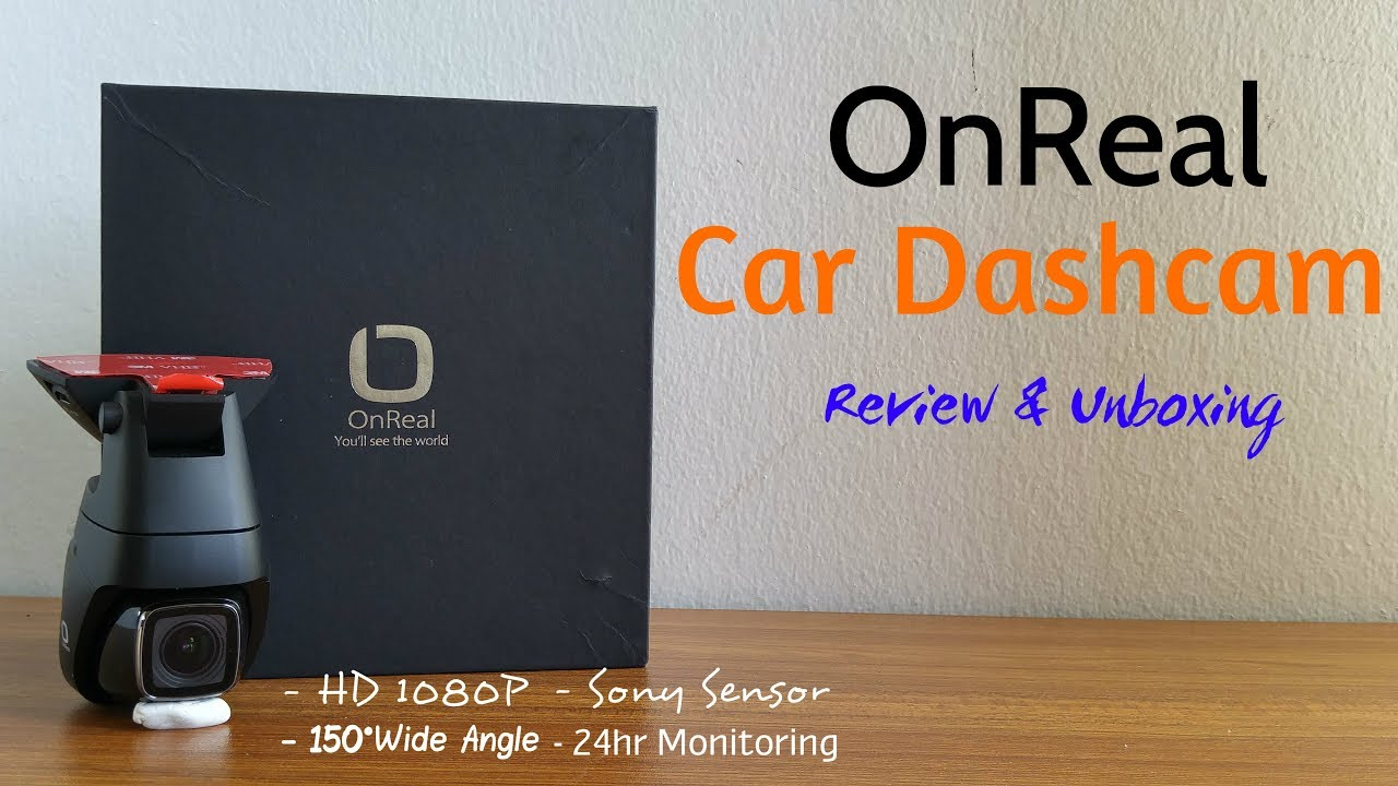 OnReal FHD Magnetic Dash Camera - Review & Unboxing