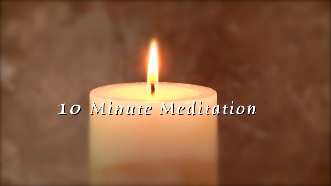 10 minute unguided meditation candle flame series youtube. Black Bedroom Furniture Sets. Home Design Ideas