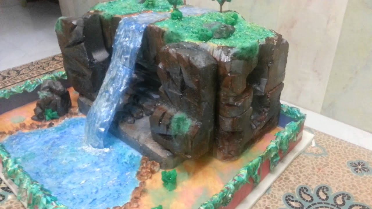 Waterfall Project Arsh From Indian School Salala