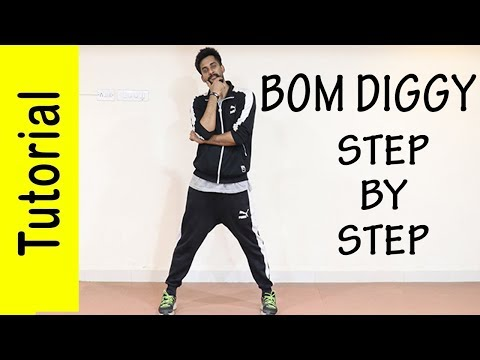 Bom Diggy Dance Tutorial | Akshay Bhosale | ABDC