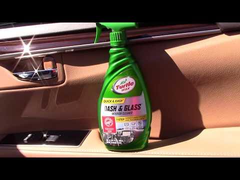 Turtle Wax Dash & Glass Interior Cleaner - It's A Winner!