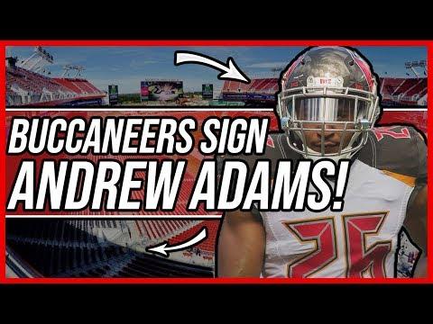Tampa Bay Buccaneers | Buccaneers SIGN Andrew Adams!