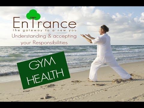 (20') Understanding & accepting your responsibilities - Guided Gym Health Hypnosis/Meditation.