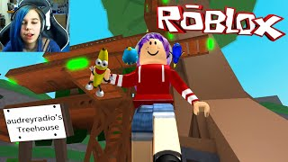 ROBLOX LET'S PLAY TREEHOUSE TYCOON PT2 | RADIOJH GAMES