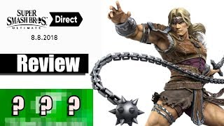 Simon Belmont is Back! (Smash Bros. Ultimate Nintendo Direct Review)