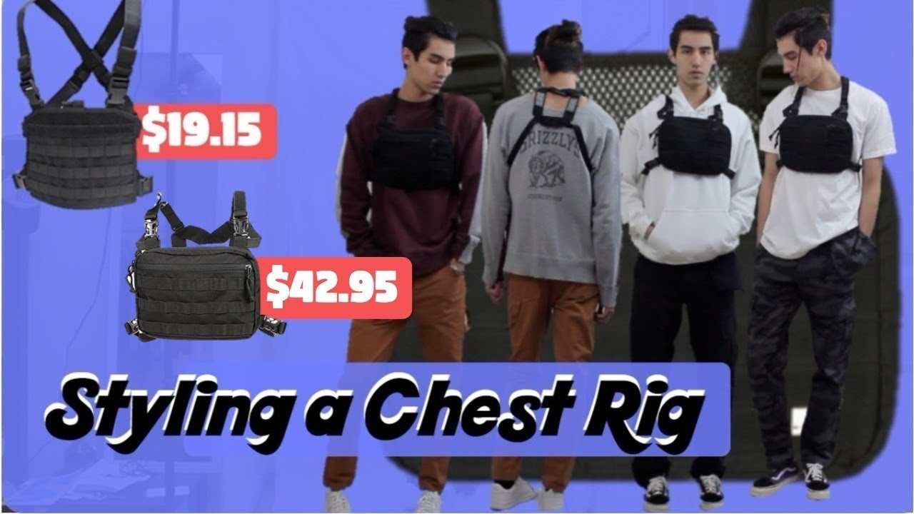 CHEAP ALYX Chest Rig Alternative! (Giveaway) - YouTube