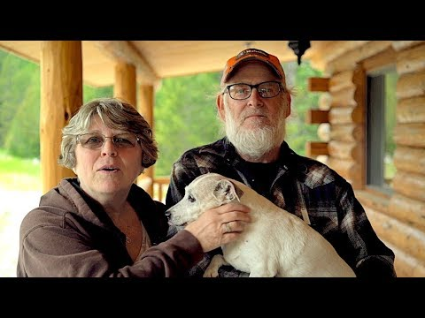 28x42 Single Level Log Home, Owners share story