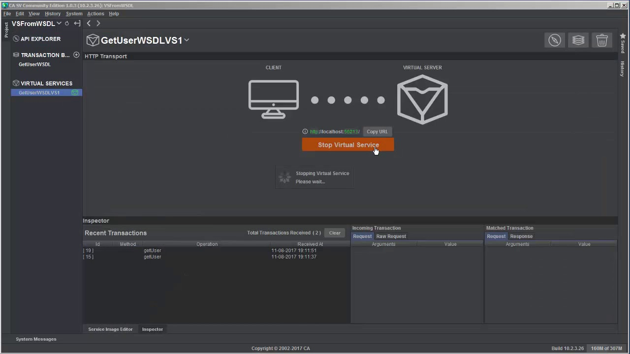 Lisa service virtualization tutorial.