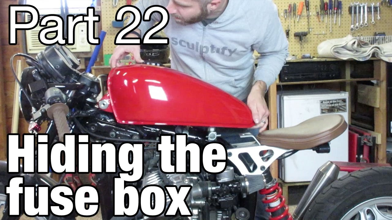 maxresdefault hiding the honda cx500 fuse box moto fugazi build part 22 youtube  at virtualis.co