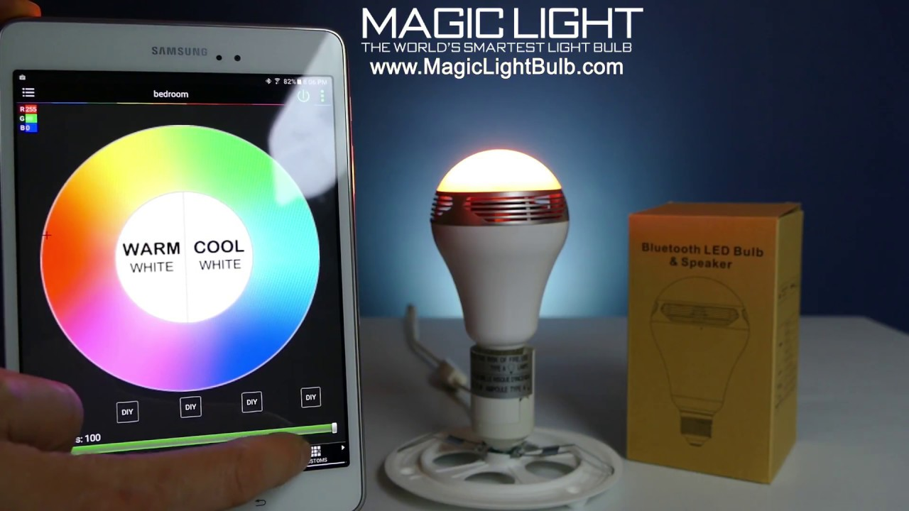 Cool Speakers For Bedroom How To Setup Your Magiclight Bluetooth Speaker Bulb