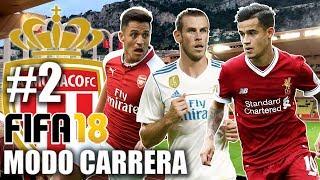 OMG!!! TREMENDOS FICHAJES!!! COUTINHO, SANCHEZ y BALE al Monaco??? - FIFA 18 Modo Carrera #2