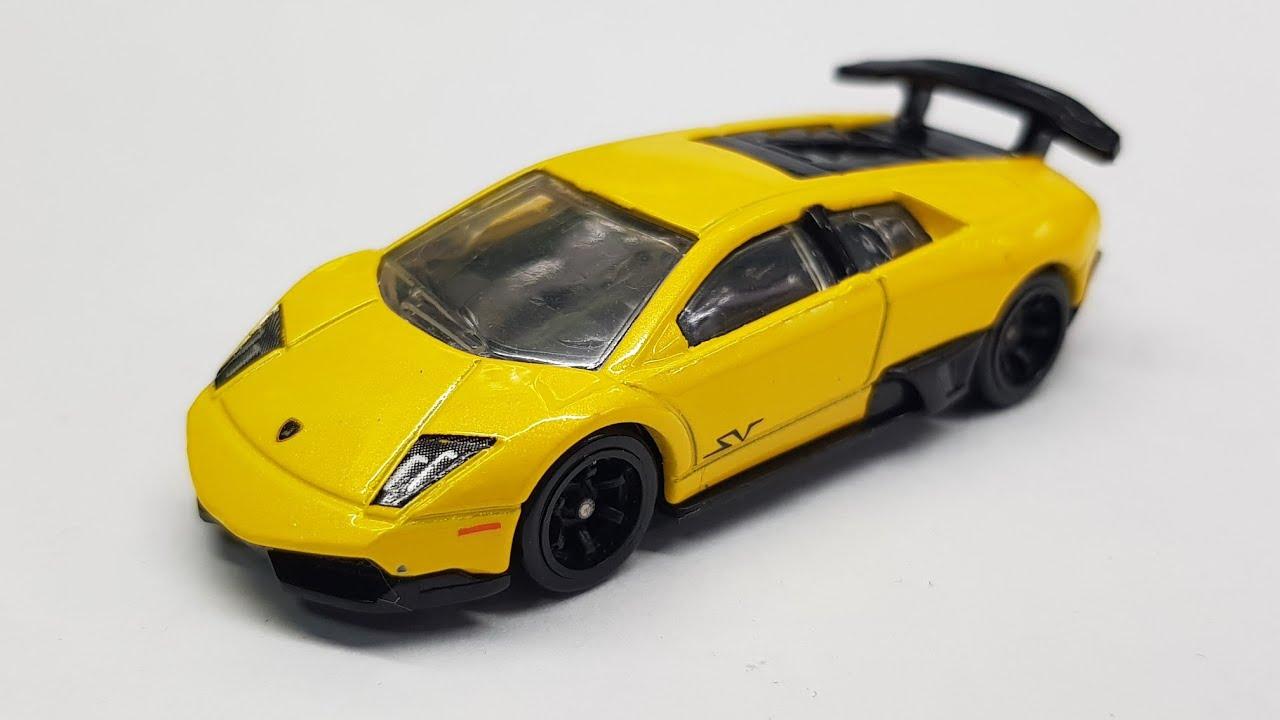Lamborghini Murcielago Sv Speed Machines Hot Wheels Review Youtube