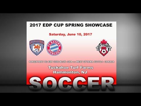 2017 EDP  Spring Cup   PARSIPPANY SC EDP 2000 BLUE vs WEST OTTAWA GU17L1  Canada