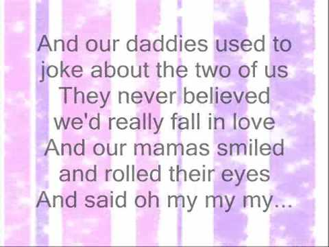 Taylor Swift - Mary's Song (Oh My My) Lyrics